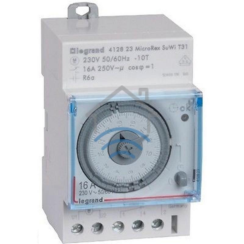 Horloge journali re cadran programmable legrand leg 92762 - Horloge tableau electrique ...